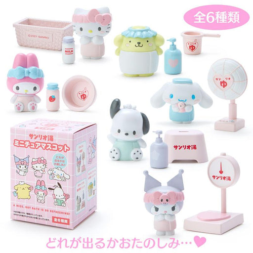 Japan Sanrio - Hot Spring Collection - Sanrio Characters Secret Figure Box