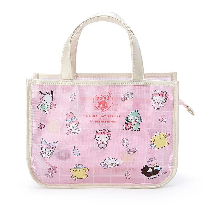 Japan Sanrio - Hot Spring Collection - Sanrio Characters Spa Bag