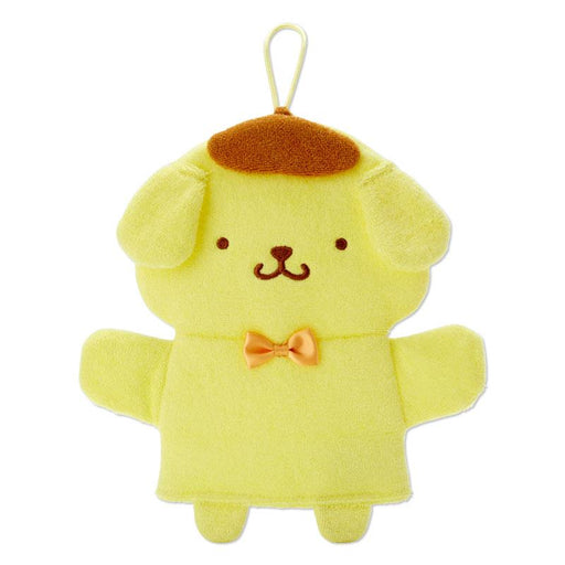 Japan Sanrio - Let's Try It Series - Pompompurin Puppet Wash Mitten