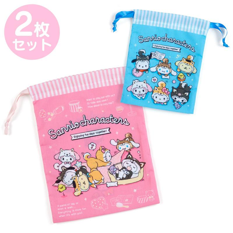Japan Sanrio - Shiba Inu Collection x Drawstring Set