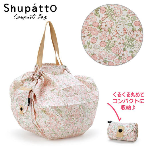 Japan Sanrio - Hello Kitty Shupatto Compact Bag Size M