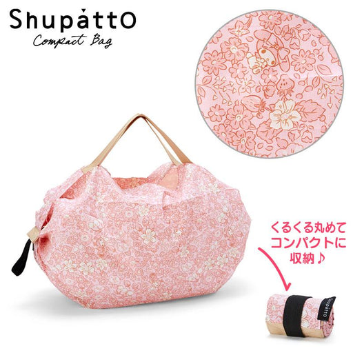 Japan Sanrio - My Melody Shupatto Pocketable Bag