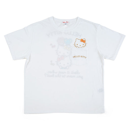 Japan Sanrio - Hello Kitty T Shirt For Adults (Color: Blue)