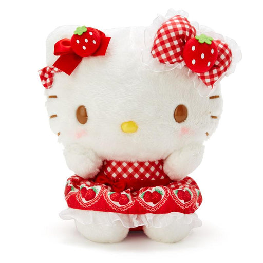 JP Sanrio - Strawberries Collection - Plush Toy x Hello Kitty