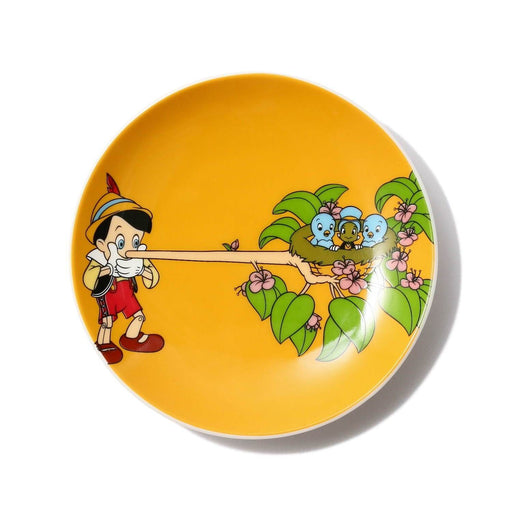 "Japan Francfranc - ""Pinocchio"" Collection - Round mini plate (Color: Yellow)"