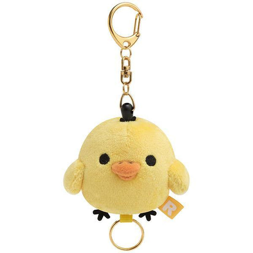 Japan San-X- Rilakkuma - Plush Toy Keychain x Key Holder - Kiiroitori