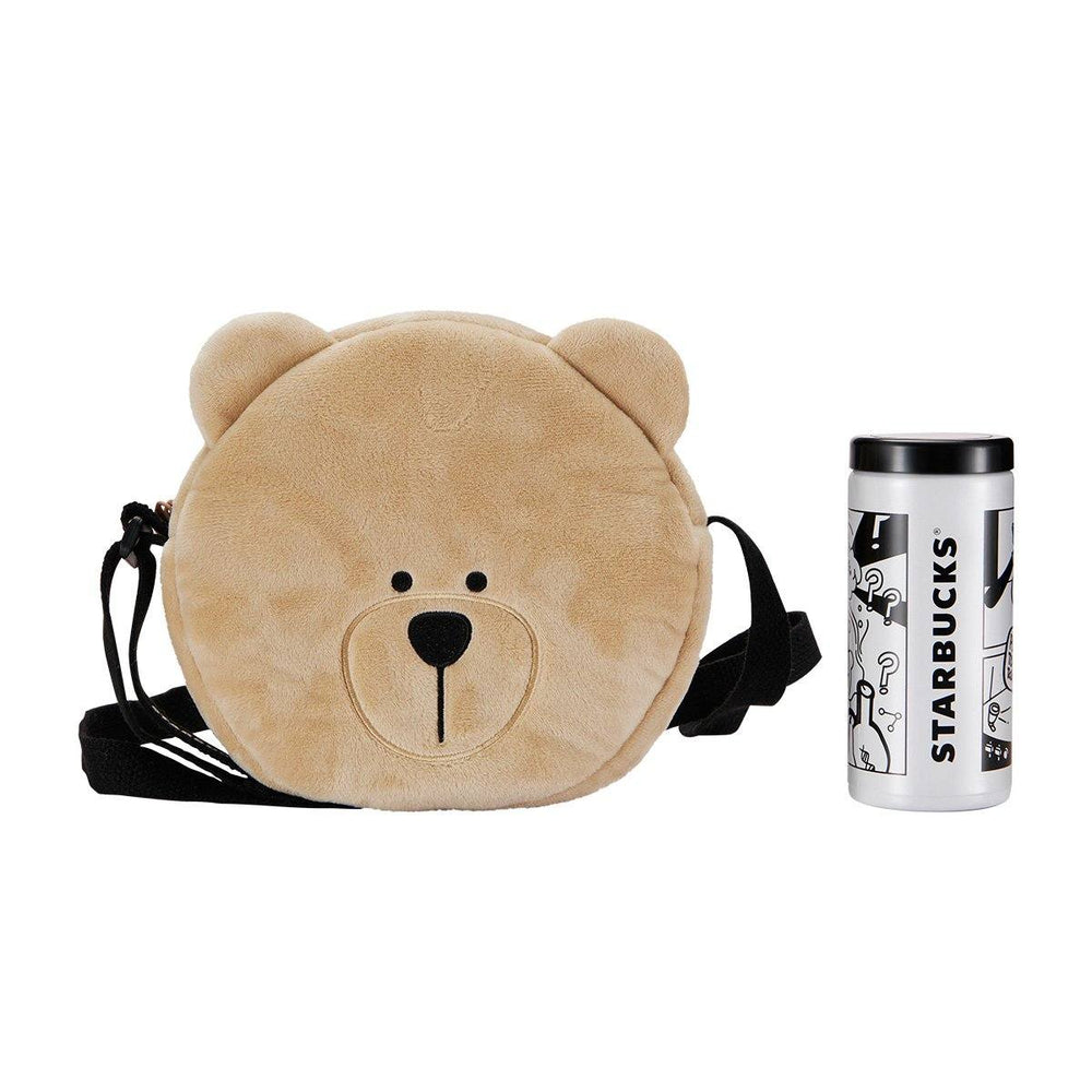 Starbucks China - Eco Bear with Me - Stainless Steel Tumbler Doodle 200ml & Bag