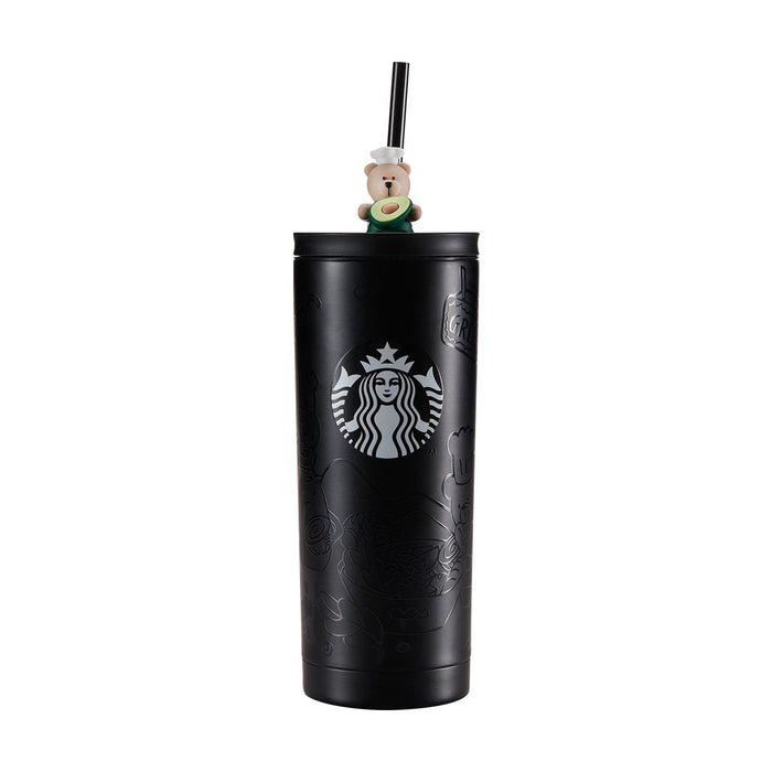 Starbucks China - Eco Bear with Me - Stainless Steel Tumbler Vegetarian 600ml