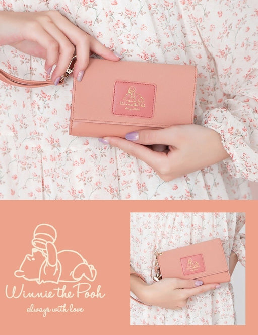 Taiwan Disney Collaboration - SB Winnie the Pooh with Love - Artificial Leather Wallet  (1 Single Style)