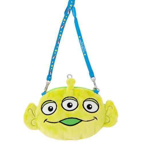 TDR - Crossbody Plush Passholder - Alien