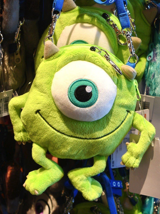 TDR - Crossbody Plush Passholder - Mike Wazowski