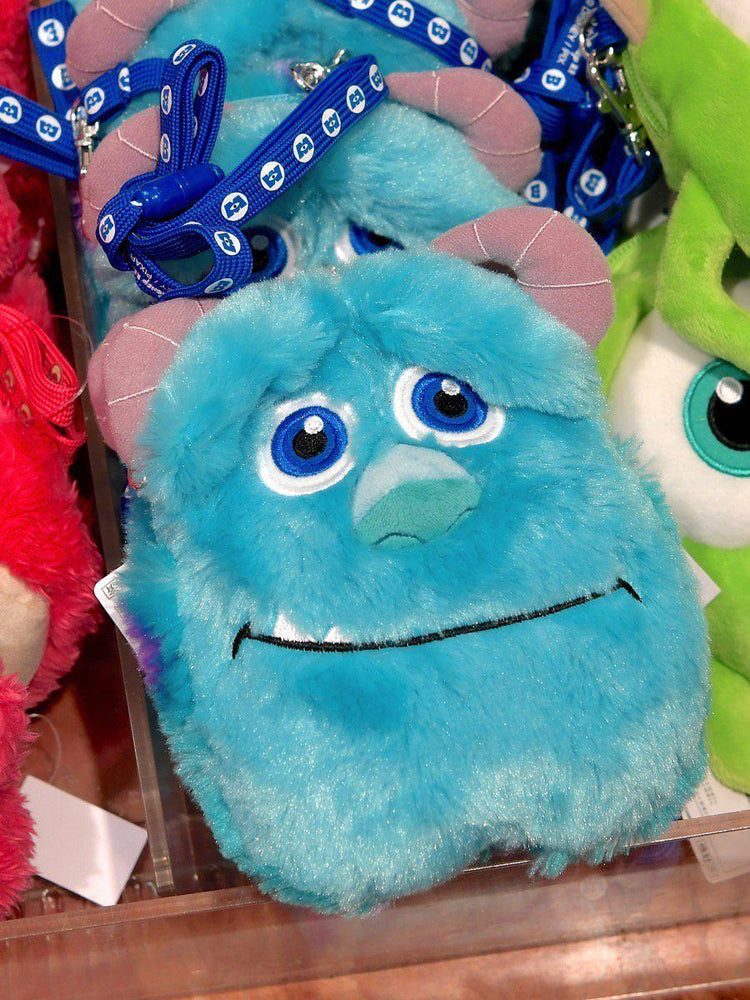 TDR - Crossbody Plush Passholder - Sulley