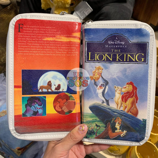DLR - Disney VHS Wallet Pouch - The Lion King