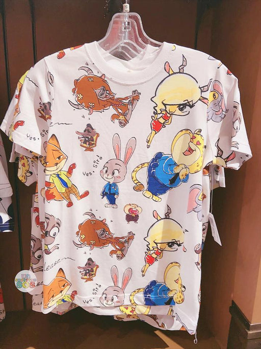 SHDL - Super Cute Zootopia Collection - All-Over Printed Tee (Unisex)