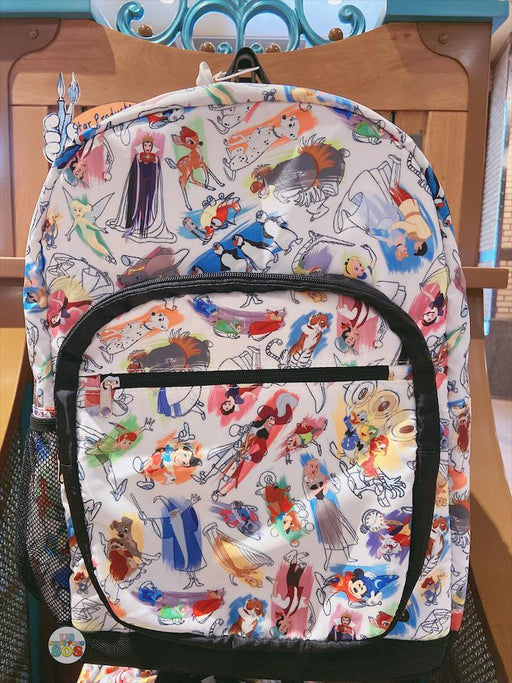 SHDL - Disney Ink & Paint Collection - All Over Painted Backpack