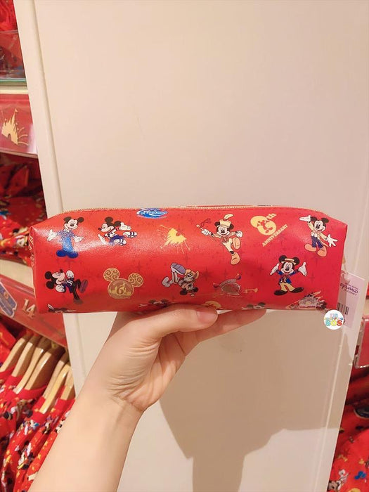 HKDL - 15th Anniversary Collection - All-Over Printed Mickey Mouse Stationary Bag
