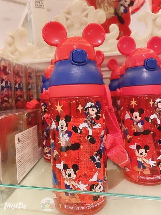 HKDL - 15th Anniversary Collection - Drink bottle with Straw & Long Strap