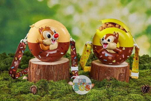 SHDL - Donut Shaped Popcorn Bucket with Chip & Dale -