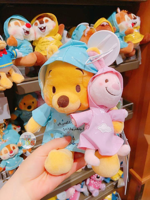 SHDL - Raincoat x Plush Toy Sets Collection - Winnie the Pooh & Piglet