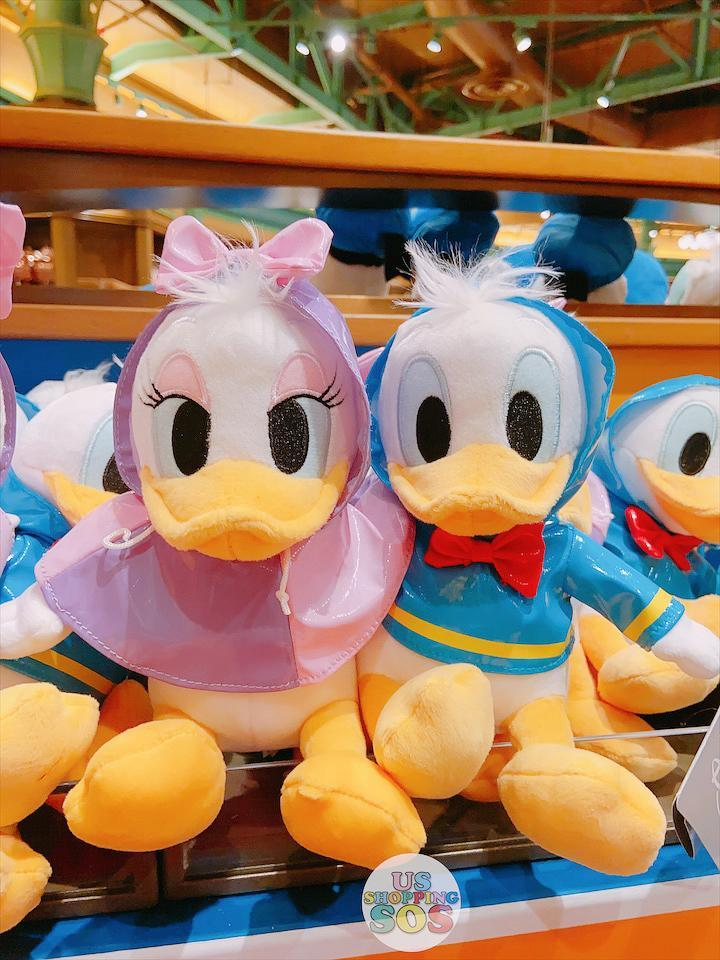 SHDL - Raincoat x Plush Toy Sets Collection - Donald & Daisy Duck