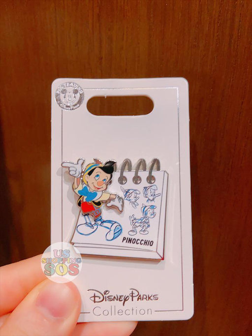 SHDL - Disney Ink & Paint Collection - Pin x Pinocchio