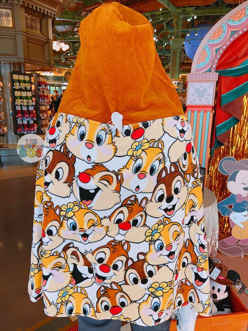 SHDL - All-Over Printed Hooded Towel x Chip, Dale & Clarice