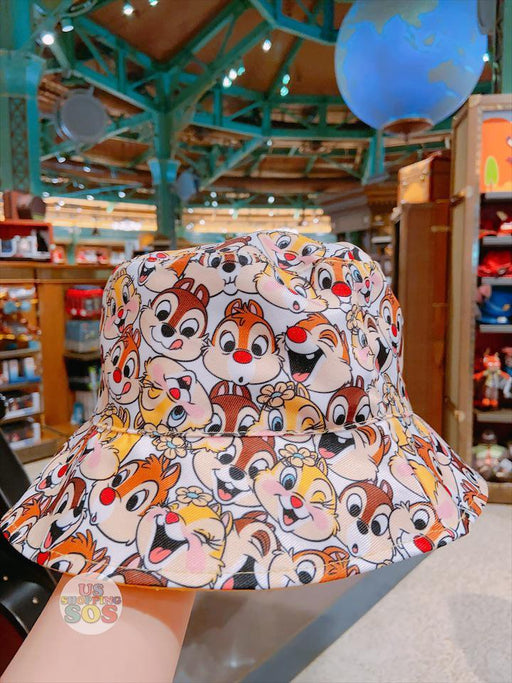 SHDL - All-Over Printed 2- Sided Hat x Chip, Dale & Clarice
