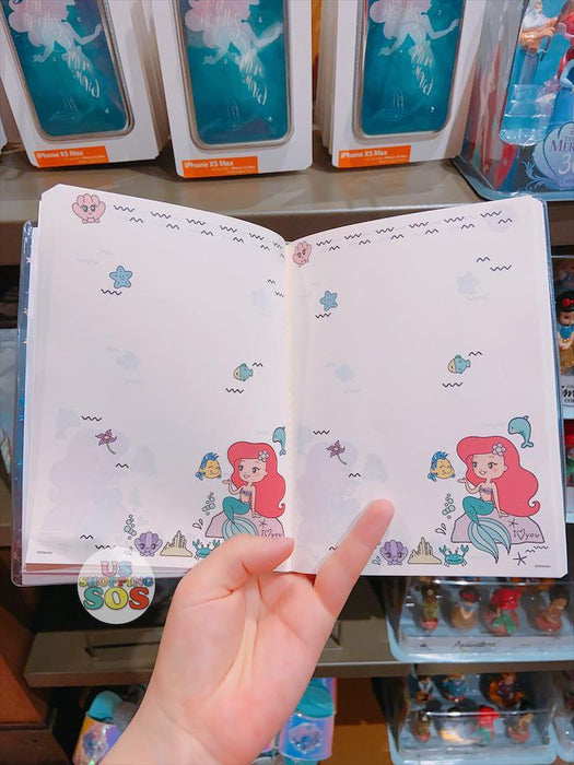 SHDL - Princess Ariel & Flounder Glitter Note Book