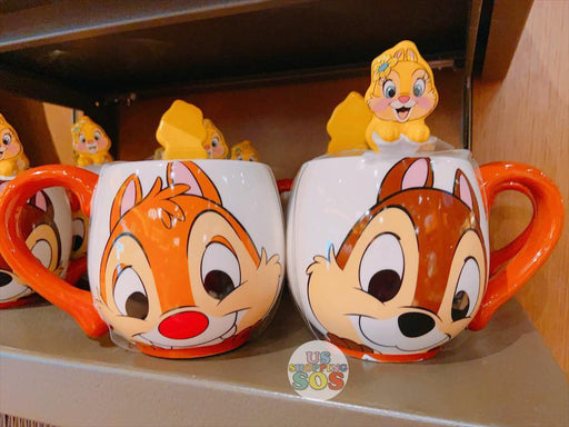 SHDL - Mug with Spoon x Chip, Dale & Clarice