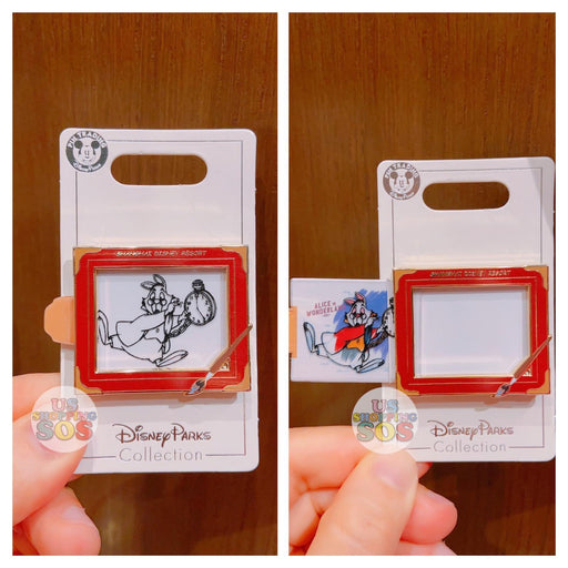 SHDL - Disney Ink & Paint Collection - Pin x White Rabbit Alice in Wonderland