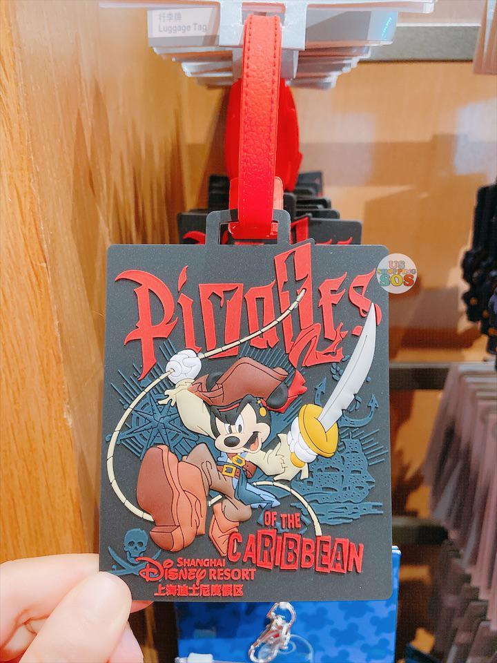 "SHDL - Luggage Tag x Mickey Mouse ""Pirates of the Caribbean"" Shanghai Disney Resort"
