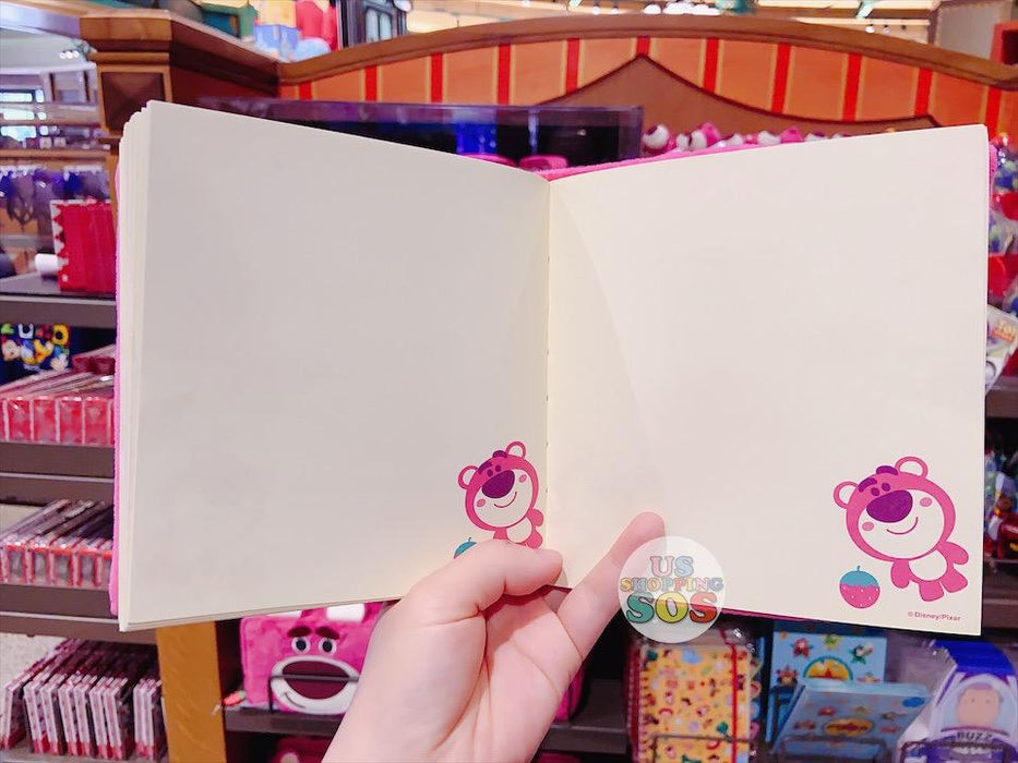 SHDL - Fluffy Cover Notebook - Lotso by jmaruyama