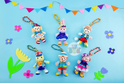 SHDL - Duffy & Friends Summer Camp Collection - Plush Keychain x