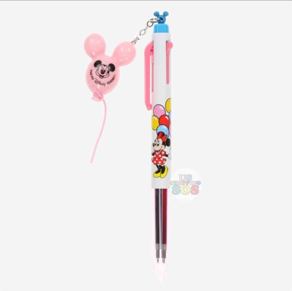 TDR - EnerGel Liquid Multicolor Gel Pen x Mickey & Minnie Mouse Balloon