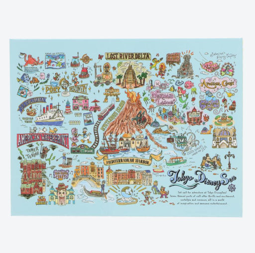 TDR - Tokyo Disney Resort Fun Map Collection - Autograph book