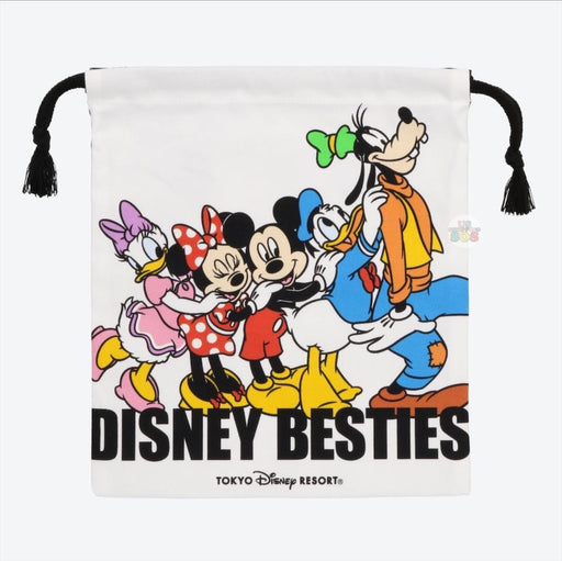 TDR - Mickey & Friends DISNEY BESTIES Collection - Drawstring Bag