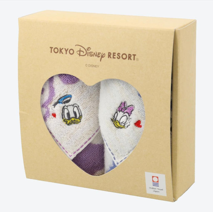 TDR - imabari Towel Japan x Towels Set - Donald & Daisy Duck