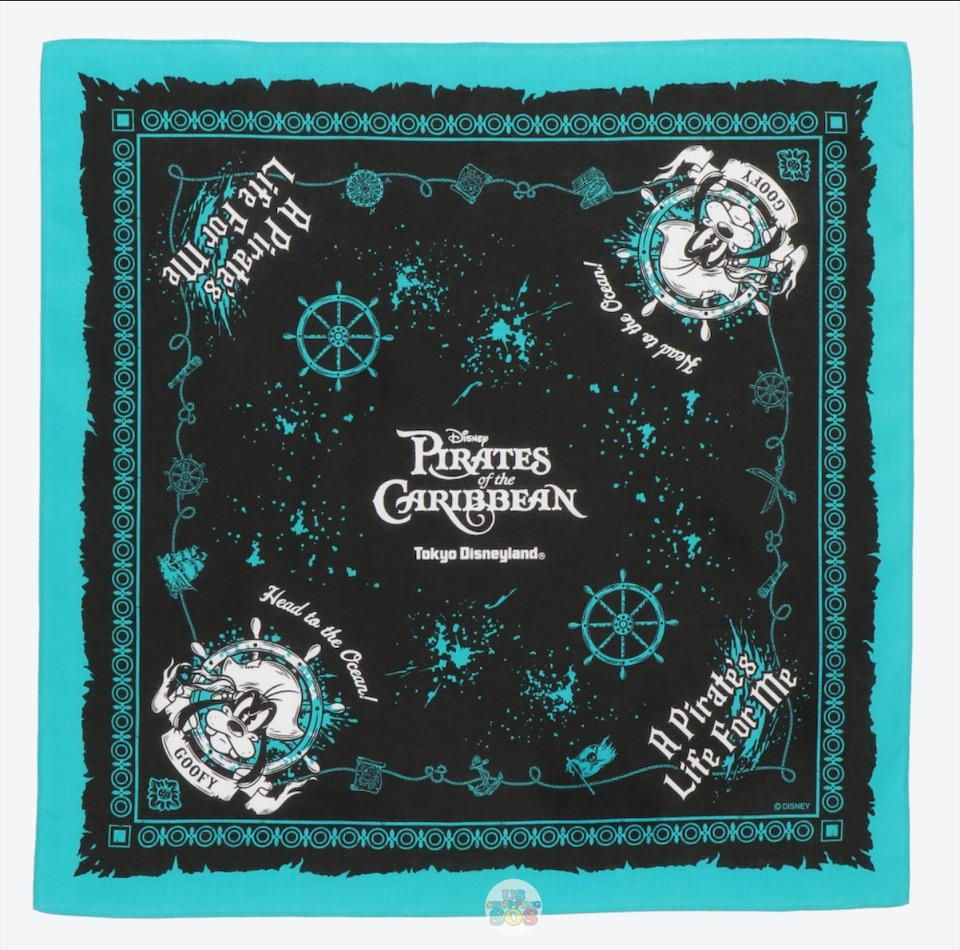 "TDR - ""Disney Pirates of the Caribbean"" Collection - Bandana x Goofy"