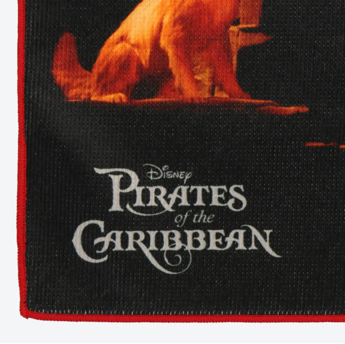 "TDR - ""Disney Pirates of the Caribbean"" Collection - Hand Towel (Design A)"