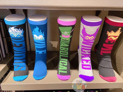 SHDL - Disney Villains Socks Set