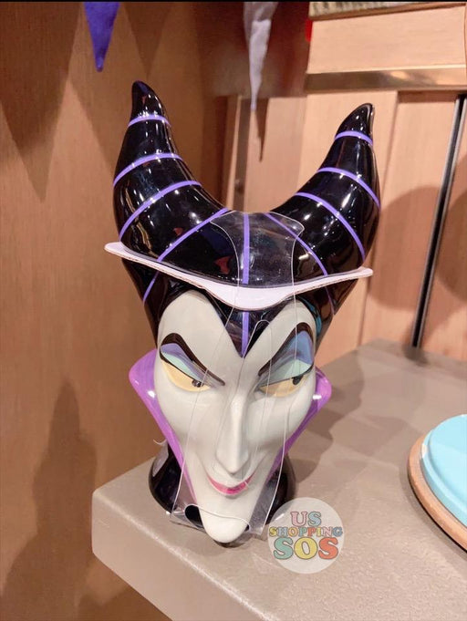 SHDL - Maleficent Head Mug with Lid