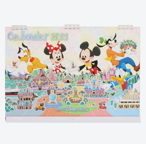 TDR - Schedule Book & Calendar 2021 Collection - TOKYO DISNEY RESORT CALENDAR 2021