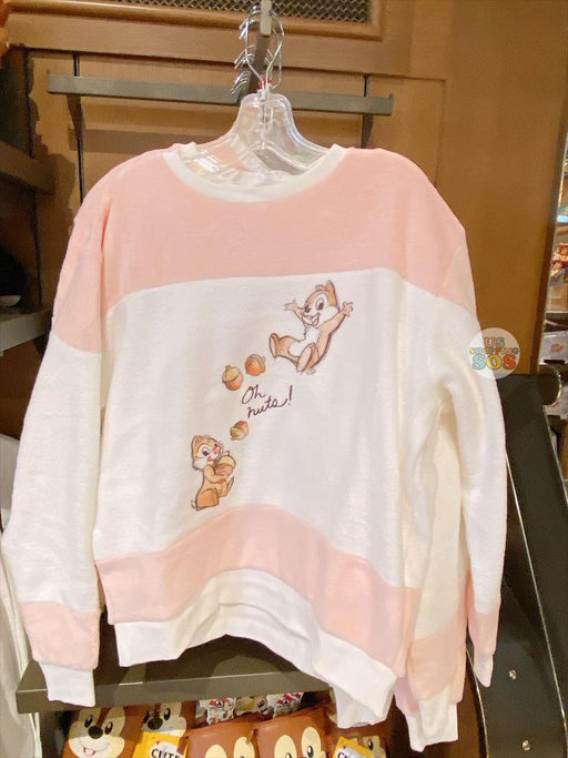 SHDL - Sweatshirt x Chip & Dale Pink and White