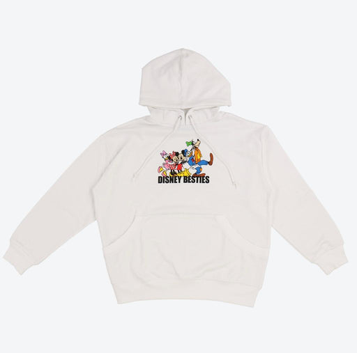 TDR - Mickey & Friends DISNEY BESTIES Collection - Unisex Hoodie(Color: White)