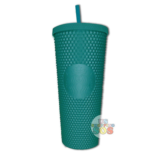 Starbucks Taiwan - Matte Green Studded Cold Cup 710ml