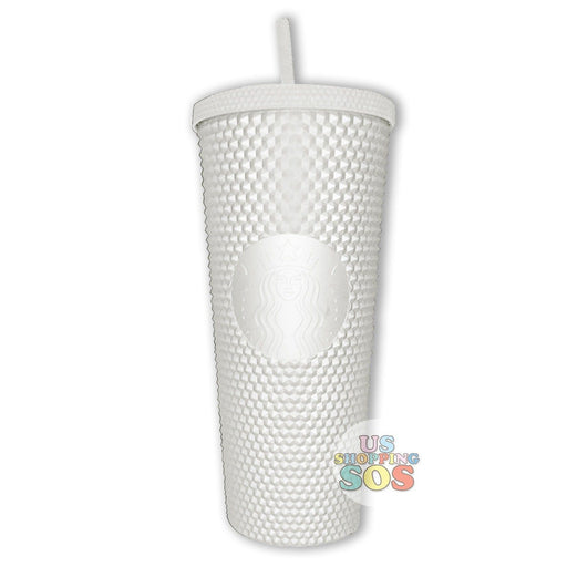 Starbucks Taiwan - Matte White Studded Cold Cup 710ml