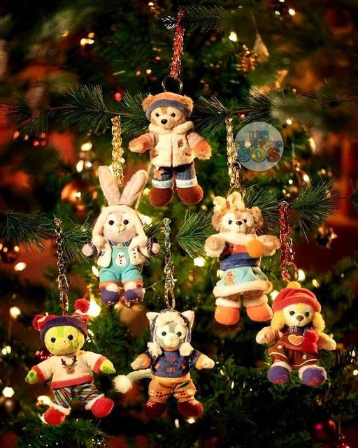 "SHDL - Duffy & Friends ""Sweet Holidays with Friends"" - Plush Toy Keychain"