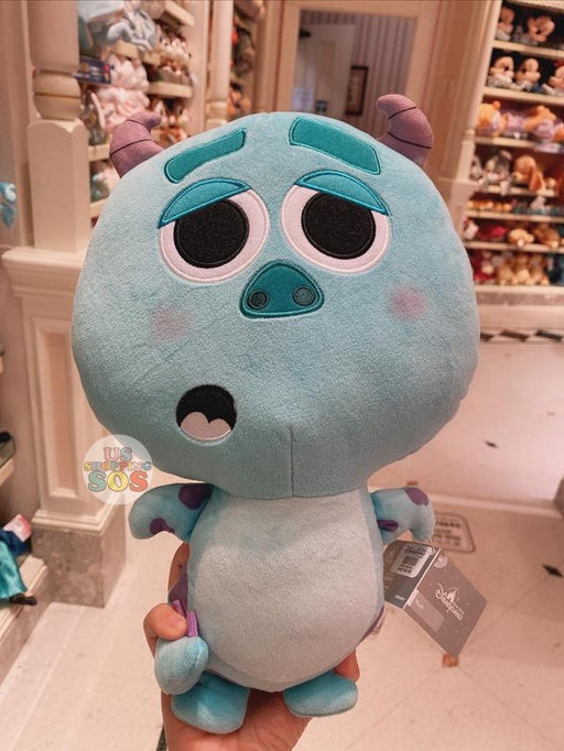 HKDL - Big Head Sulley Plush Toy