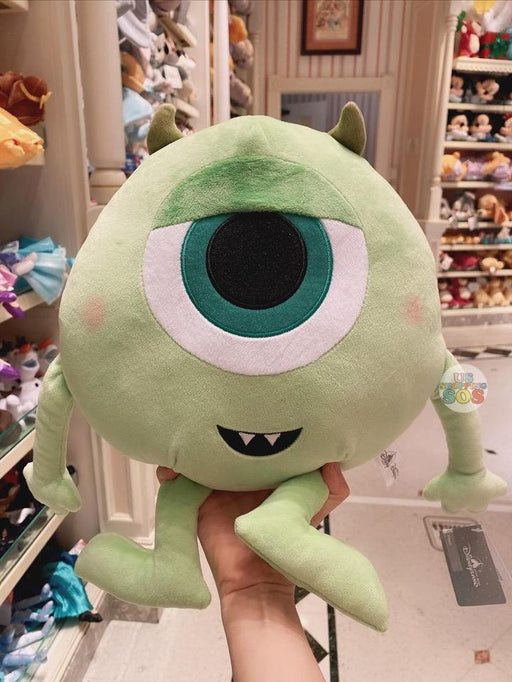 HKDL - Big Head Mike Wazowski Plush Toy