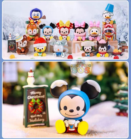 SHDS - POPMART Random Secret Figure Box x Mickey & Friends Winter